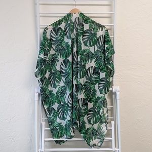 Other - Monstera Leaf Swimsuit Coverup